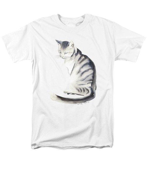 Cat Art I Men's T-Shirt  (Regular Fit) by Melly Terpening
