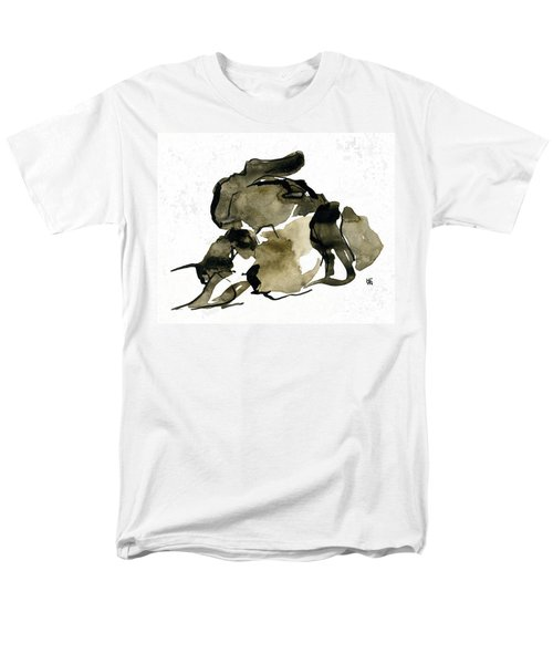 Cat Nap - 2 Men's T-Shirt  (Regular Fit) by Shirley Heyn