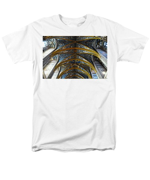 Cathedral Albi Men's T-Shirt  (Regular Fit) by Thomas M Pikolin
