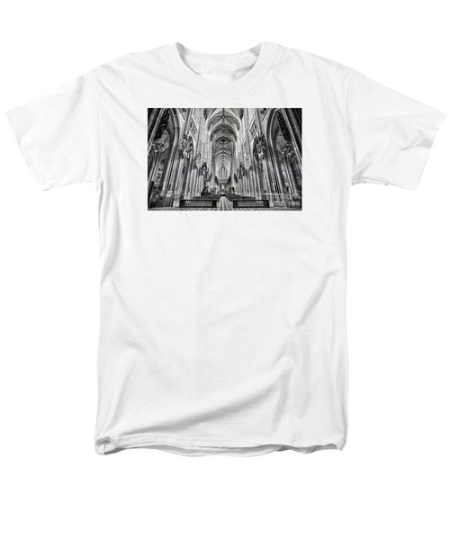 Men's T-Shirt  (Regular Fit) featuring the photograph Cathedral At Orleans France by Jack Torcello