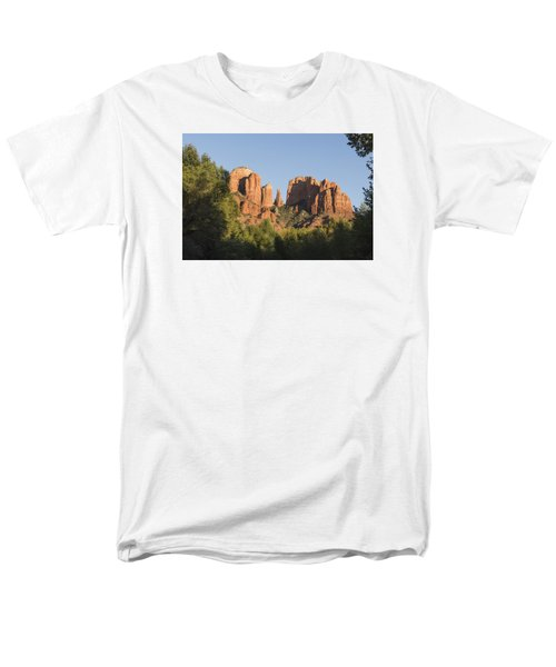 Cathedral In The Trees Men's T-Shirt  (Regular Fit) by Laura Pratt