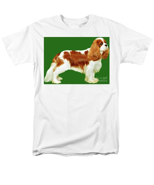 Cavalier King Charles Spaniel Men's T-Shirt  (Regular Fit) by Marian Cates