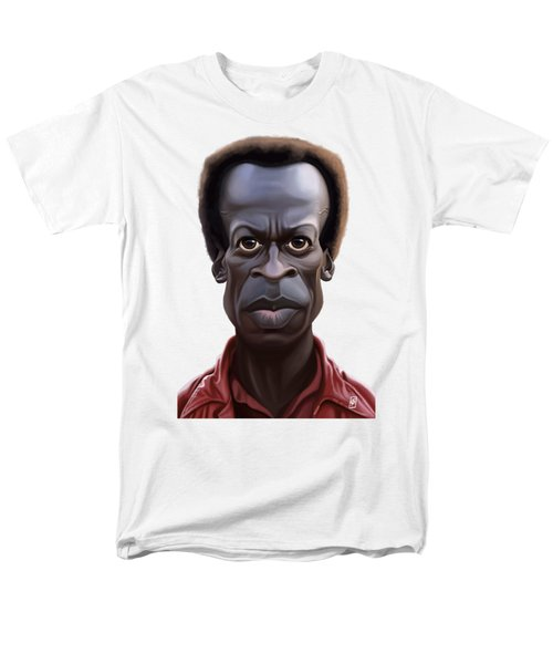 Celebrity Sunday - Miles Davies Men's T-Shirt  (Regular Fit) by Rob Snow