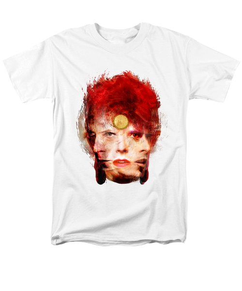 Ch Ch Changes David Bowie Portrait Men's T-Shirt  (Regular Fit)