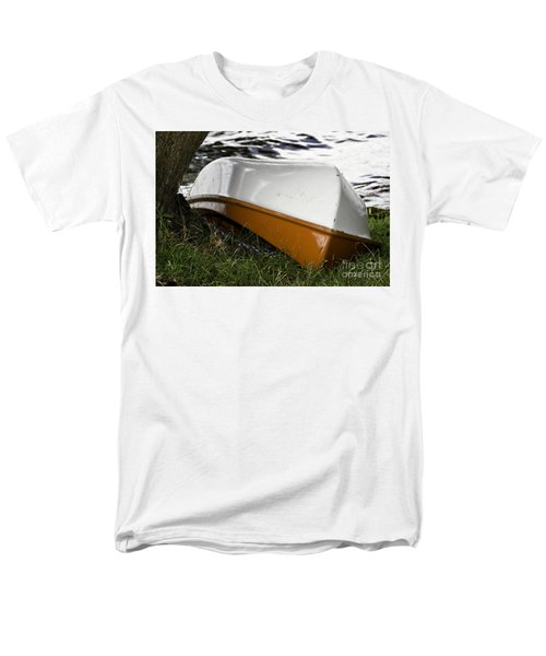 Chained Little Boat Just Waiting Men's T-Shirt  (Regular Fit) by Yurix Sardinelly