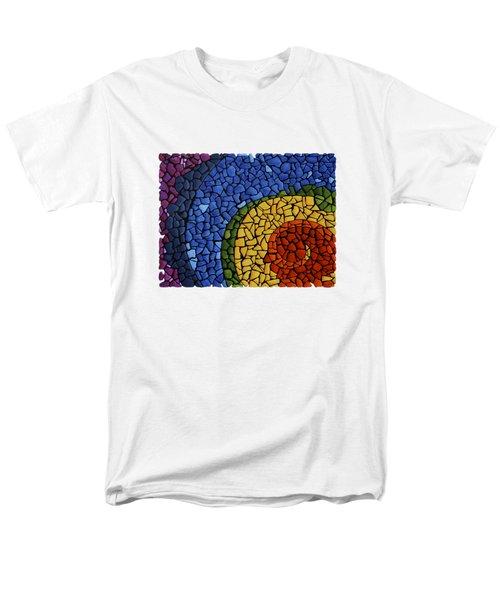 Men's T-Shirt  (Regular Fit) featuring the painting Chakra Swirl by Deborha Kerr