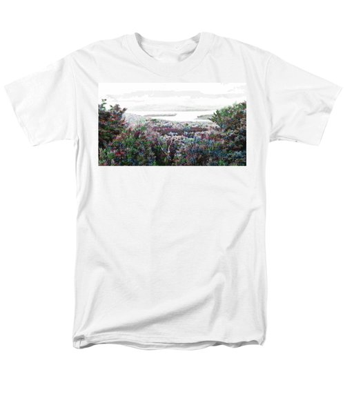 Men's T-Shirt  (Regular Fit) featuring the mixed media Change Of Seasons by Mike Breau
