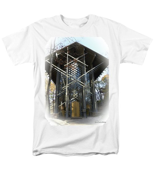 Chapel In The Woods Men's T-Shirt  (Regular Fit) by Lena Wilhite