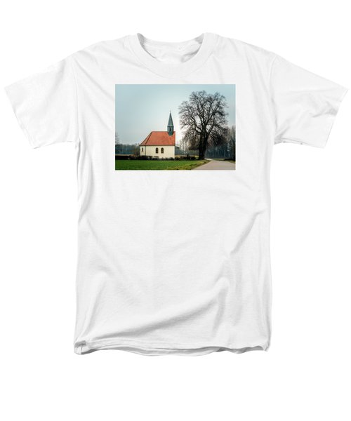 Chapel Under The Tree Men's T-Shirt  (Regular Fit) by Daniel Precht