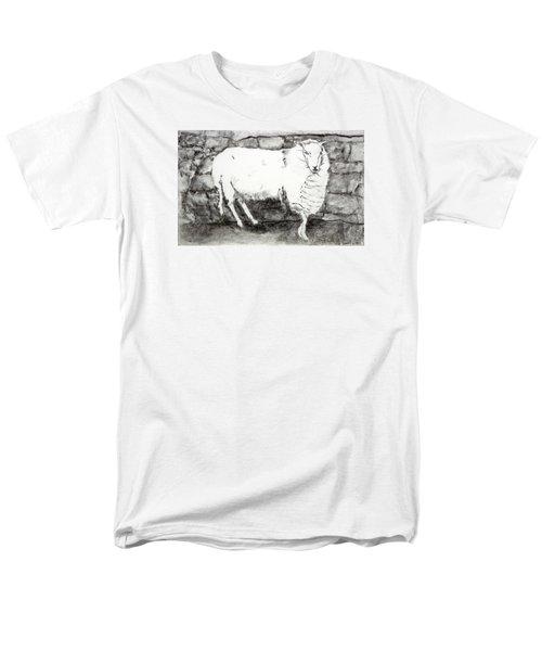 Charcoal Sheep Men's T-Shirt  (Regular Fit)