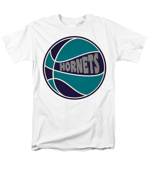 Charlotte Hornets Retro Shirt Men's T-Shirt  (Regular Fit) by Joe Hamilton