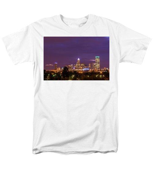 Charlotte, North Carolina Sunrise Men's T-Shirt  (Regular Fit) by Serge Skiba