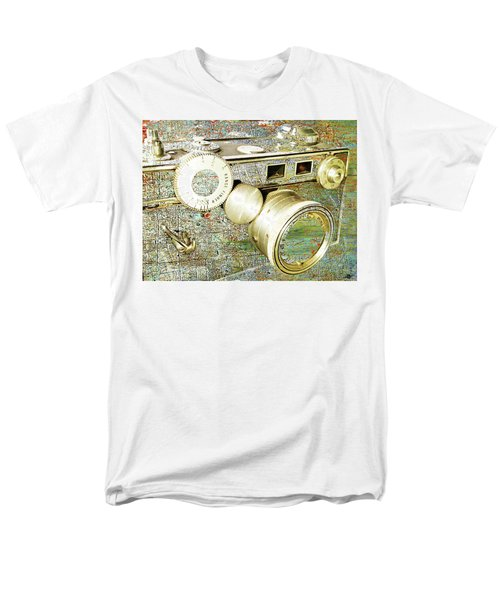 Men's T-Shirt  (Regular Fit) featuring the mixed media Cheese by Tony Rubino