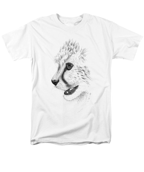 Cheetah Men's T-Shirt  (Regular Fit) by John Barnard