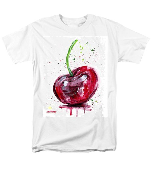 Cherry 2 Men's T-Shirt  (Regular Fit) by Arleana Holtzmann