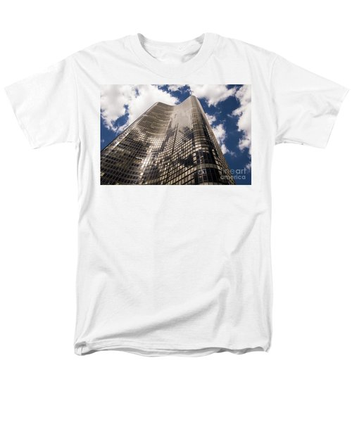 Men's T-Shirt  (Regular Fit) featuring the photograph Chicago Building by Zawhaus Photography