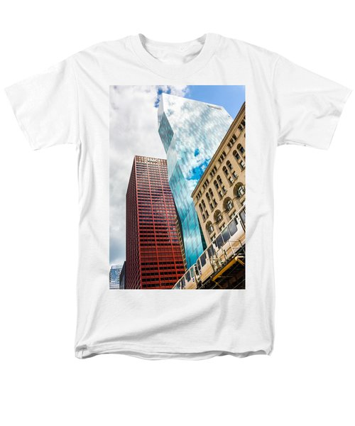 Chicago's South Wabash Avenue  Men's T-Shirt  (Regular Fit) by Semmick Photo