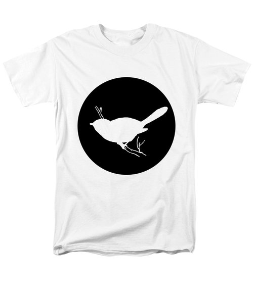 Chickadee Men's T-Shirt  (Regular Fit) by Mordax Furittus