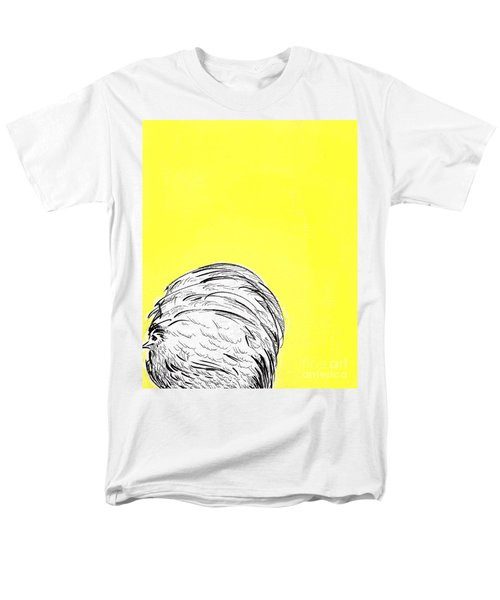 Men's T-Shirt  (Regular Fit) featuring the painting Chickens Two by Jason Tricktop Matthews