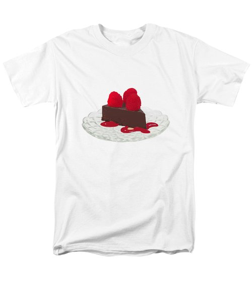 Chocolate Cake Men's T-Shirt  (Regular Fit) by Priscilla Wolfe