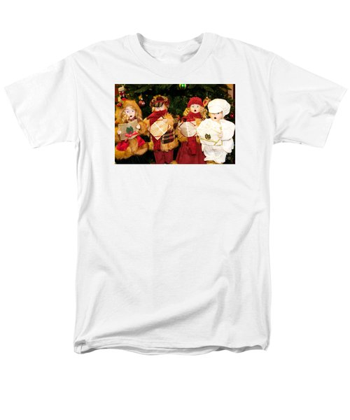 Men's T-Shirt  (Regular Fit) featuring the photograph Christmas Quartet by Vinnie Oakes