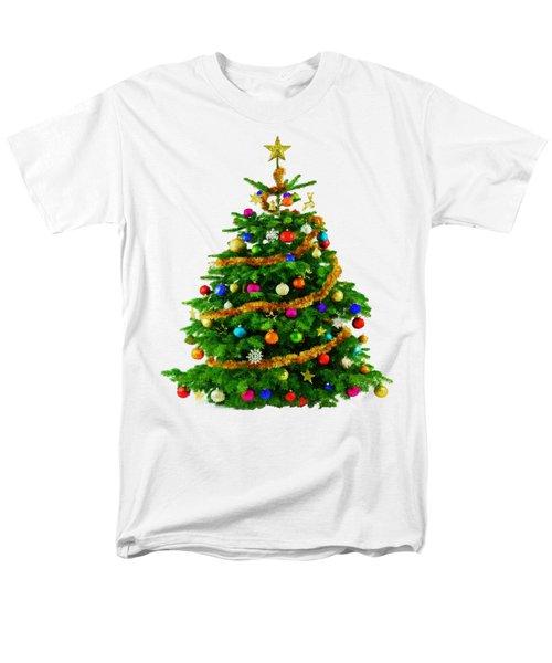 Christmas Tree 1417 Men's T-Shirt  (Regular Fit) by Rafael Salazar