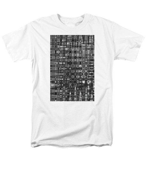 Men's T-Shirt  (Regular Fit) featuring the photograph Chromosome 22 Bw by Diane E Berry