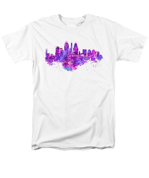 Cincinnati Skyline Men's T-Shirt  (Regular Fit) by Marian Voicu