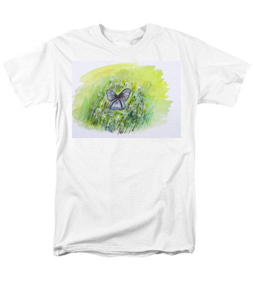 Cindy's Butterfly Men's T-Shirt  (Regular Fit) by Clyde J Kell