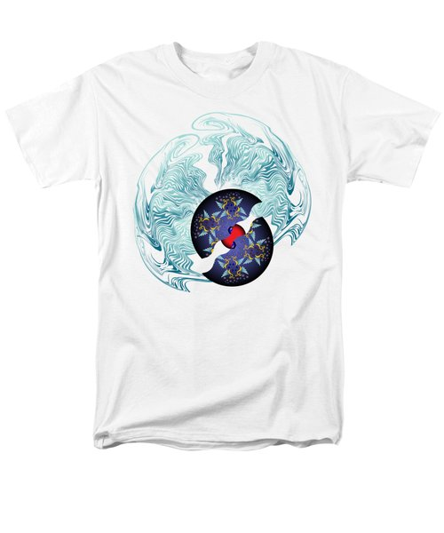Circularium No 2635 Men's T-Shirt  (Regular Fit) by Alan Bennington