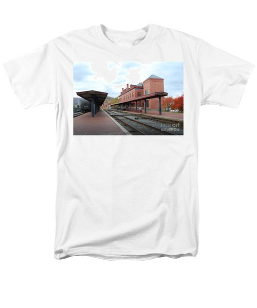 City Station Men's T-Shirt  (Regular Fit) by Eric Liller