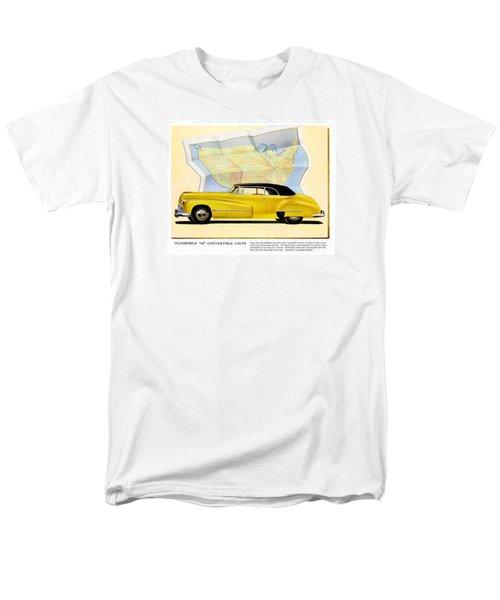Men's T-Shirt  (Regular Fit) featuring the photograph Classic Car Ads by Allen Beilschmidt