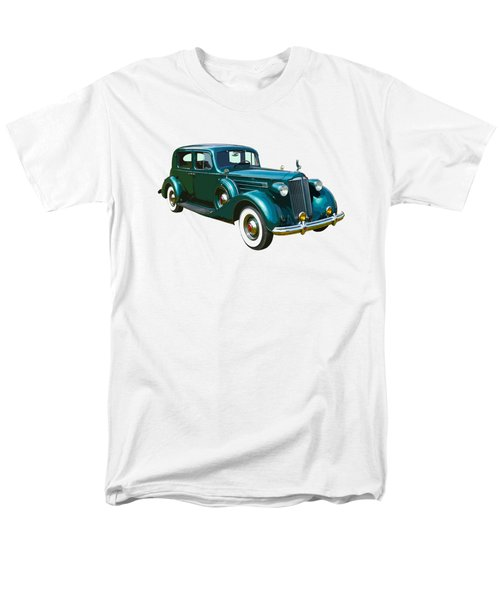 Classic Green Packard Luxury Automobile Men's T-Shirt  (Regular Fit) by Keith Webber Jr