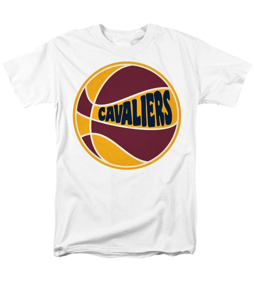 Men's T-Shirt  (Regular Fit) featuring the photograph Cleveland Cavaliers Retro Shirt by Joe Hamilton