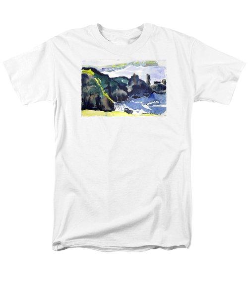 Cliffs In The Sea Men's T-Shirt  (Regular Fit)