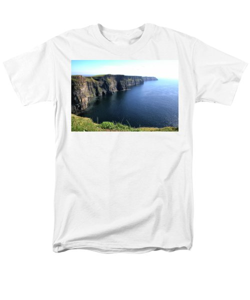 Cliffs Of Moher Men's T-Shirt  (Regular Fit) by Catherine Alfidi