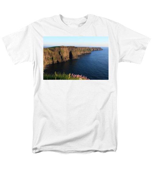 Cliffs Of Moher In Evening Light Men's T-Shirt  (Regular Fit)