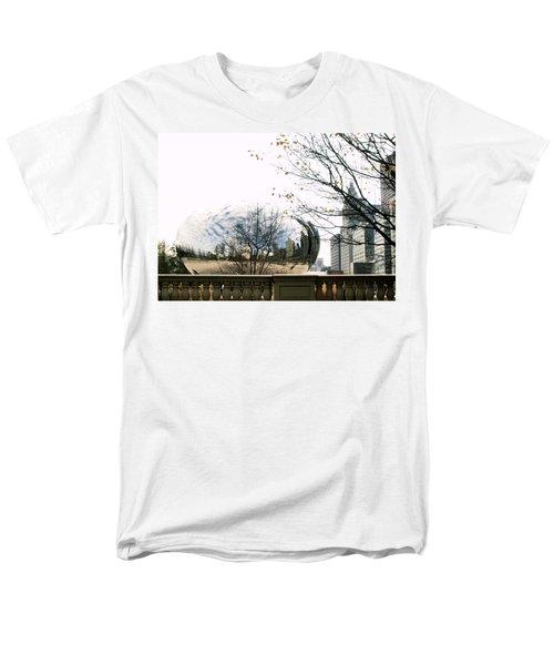 Cloud Gate - 1 Men's T-Shirt  (Regular Fit) by Ely Arsha