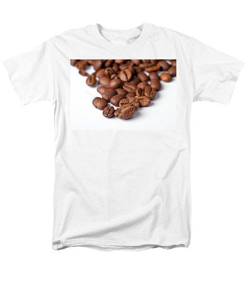 Coffee Beans Men's T-Shirt  (Regular Fit) by Gert Lavsen