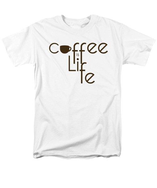 Coffee Is Life #3 Men's T-Shirt  (Regular Fit)