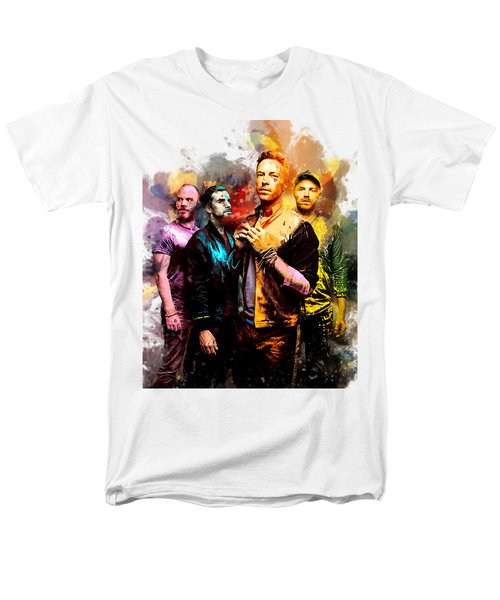 Coldplay Men's T-Shirt  (Regular Fit) by Rinaldo Ananta