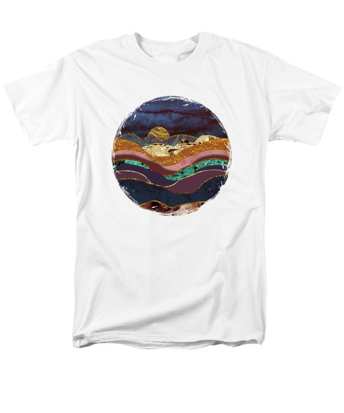 Color Fields Men's T-Shirt  (Regular Fit) by Katherine Smit