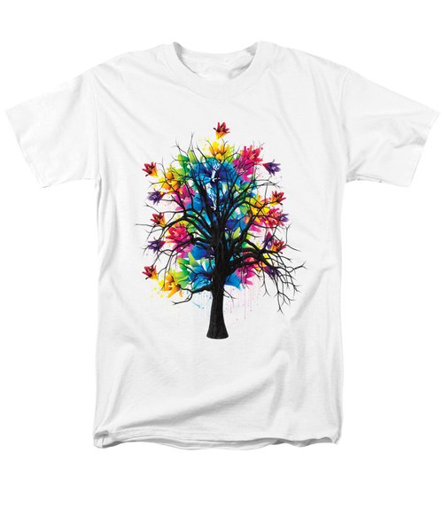 Color Tree Collection Men's T-Shirt  (Regular Fit) by Marvin Blaine