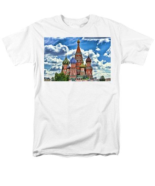 Colorful Domes Men's T-Shirt  (Regular Fit) by Pravine Chester