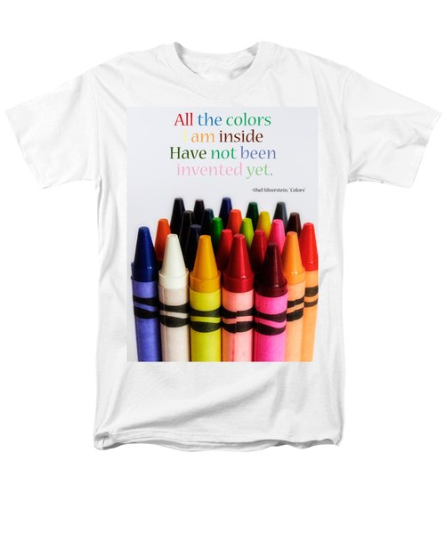 Colors Of Me Men's T-Shirt  (Regular Fit) by Julia Wilcox