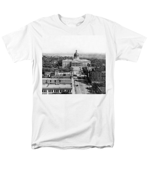 Columbia South Carolina - State Capitol Building - C 1905 Men's T-Shirt  (Regular Fit) by International  Images