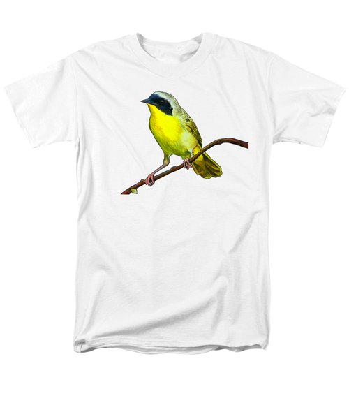 Common Yellowthroat Men's T-Shirt  (Regular Fit) by Rory Viale