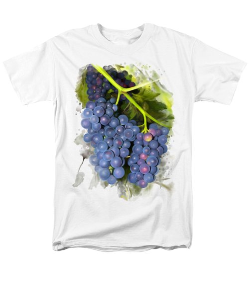 Concord Grape Men's T-Shirt  (Regular Fit) by Ivana Westin
