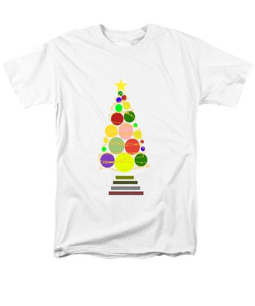 Contemporary Christmas Men's T-Shirt  (Regular Fit) by Kathleen Sartoris