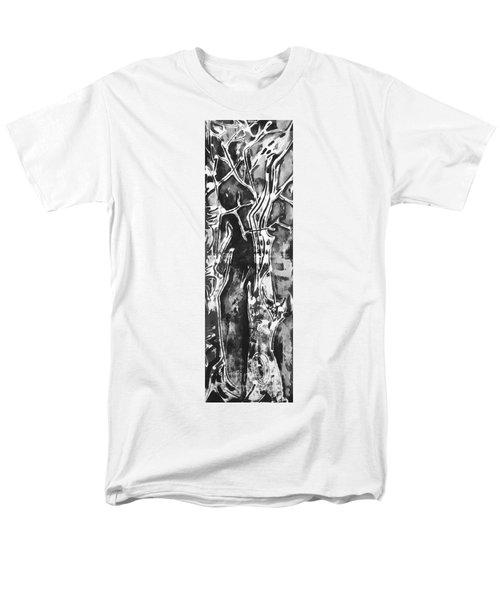 Men's T-Shirt  (Regular Fit) featuring the painting Convenor by Carol Rashawnna Williams